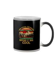 ANTI SOCIAL QUARANTINED HIKING Color Changing Mug thumbnail