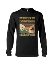 BEST  Pomeranian MOM EVER Long Sleeve Tee thumbnail