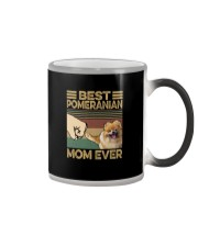 BEST  Pomeranian MOM EVER Color Changing Mug thumbnail