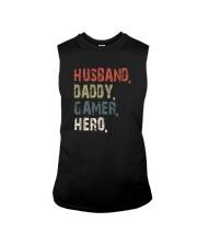 HUSBAND DADDY GAMER HERO Sleeveless Tee thumbnail