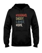 HUSBAND DADDY GAMER HERO Hooded Sweatshirt thumbnail