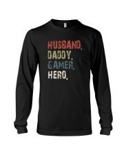 HUSBAND DADDY GAMER HERO Long Sleeve Tee thumbnail