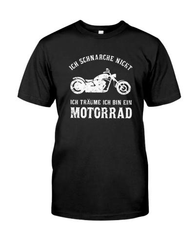 Ich schnarche Nicht Träume ich Bin EIN Motorrad