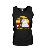 COME AND TAKE  IT dachshund Unisex Tank thumbnail