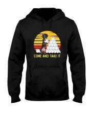 COME AND TAKE  IT dachshund Hooded Sweatshirt thumbnail