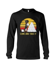 COME AND TAKE  IT dachshund Long Sleeve Tee thumbnail