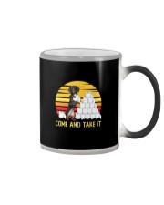 COME AND TAKE  IT dachshund Color Changing Mug thumbnail