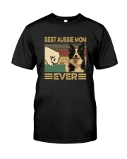 BEST aussie MOM EVER s Classic T-Shirt front
