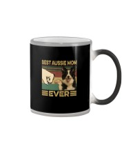 BEST aussie MOM EVER s Color Changing Mug thumbnail