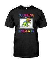 ZOOMING INTO KINDERGARTEN Classic T-Shirt front
