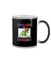ZOOMING INTO KINDERGARTEN Color Changing Mug thumbnail
