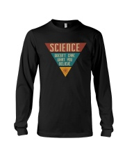 SCIENCE DOESN'T CARE Long Sleeve Tee thumbnail