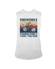 FIREWORKS DIRECTOR I RUN YOU RUN Sleeveless Tee tile