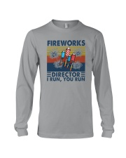 FIREWORKS DIRECTOR I RUN YOU RUN Long Sleeve Tee tile