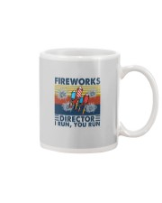 FIREWORKS DIRECTOR I RUN YOU RUN Mug tile