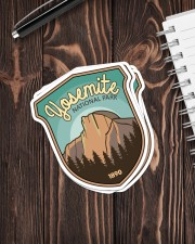 YOSEMITE NATIONAL PARK 1890 Sticker - 4 pack (Vertical) aos-sticker-4-pack-vertical-lifestyle-front-05