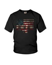 gun flag Youth T-Shirt thumbnail