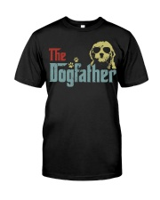 THE DOGFATHER GOLDENDOODLE Classic T-Shirt front