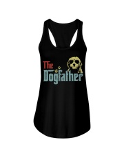 THE DOGFATHER GOLDENDOODLE Ladies Flowy Tank thumbnail