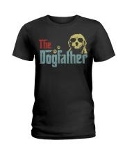 THE DOGFATHER GOLDENDOODLE Ladies T-Shirt thumbnail