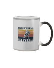 BEST PUCKING DAD EVER Color Changing Mug thumbnail