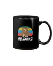 I'M NOT ARGUING BEAR COFFEE Mug thumbnail