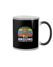 I'M NOT ARGUING BEAR COFFEE Color Changing Mug thumbnail