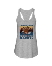 I WANNA BE THE ONE WHO HAS A BEER WITH DARRYL vt Ladies Flowy Tank thumbnail