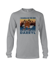 I WANNA BE THE ONE WHO HAS A BEER WITH DARRYL vt Long Sleeve Tee thumbnail