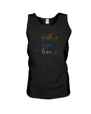FAITH HOPE LOVE Unisex Tank thumbnail