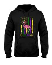 IT'S MARDI GRAS Y'ALL Hooded Sweatshirt thumbnail
