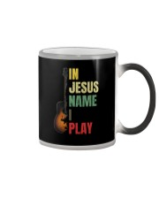 IN JESUS NAME I PLAY GUITAR Color Changing Mug thumbnail