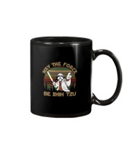 MAY THE FORCE BE SHIH TZU VT Mug tile