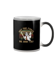 MAY THE FORCE BE SHIH TZU VT Color Changing Mug thumbnail