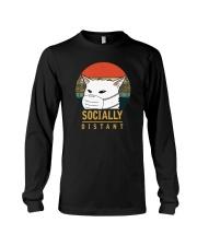 SOCIALLY DISTANT Long Sleeve Tee thumbnail