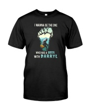 BEER WITH DARRYL Classic T-Shirt front