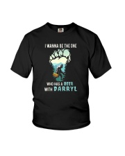 BEER WITH DARRYL Youth T-Shirt thumbnail