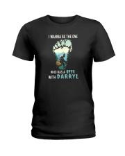BEER WITH DARRYL Ladies T-Shirt thumbnail