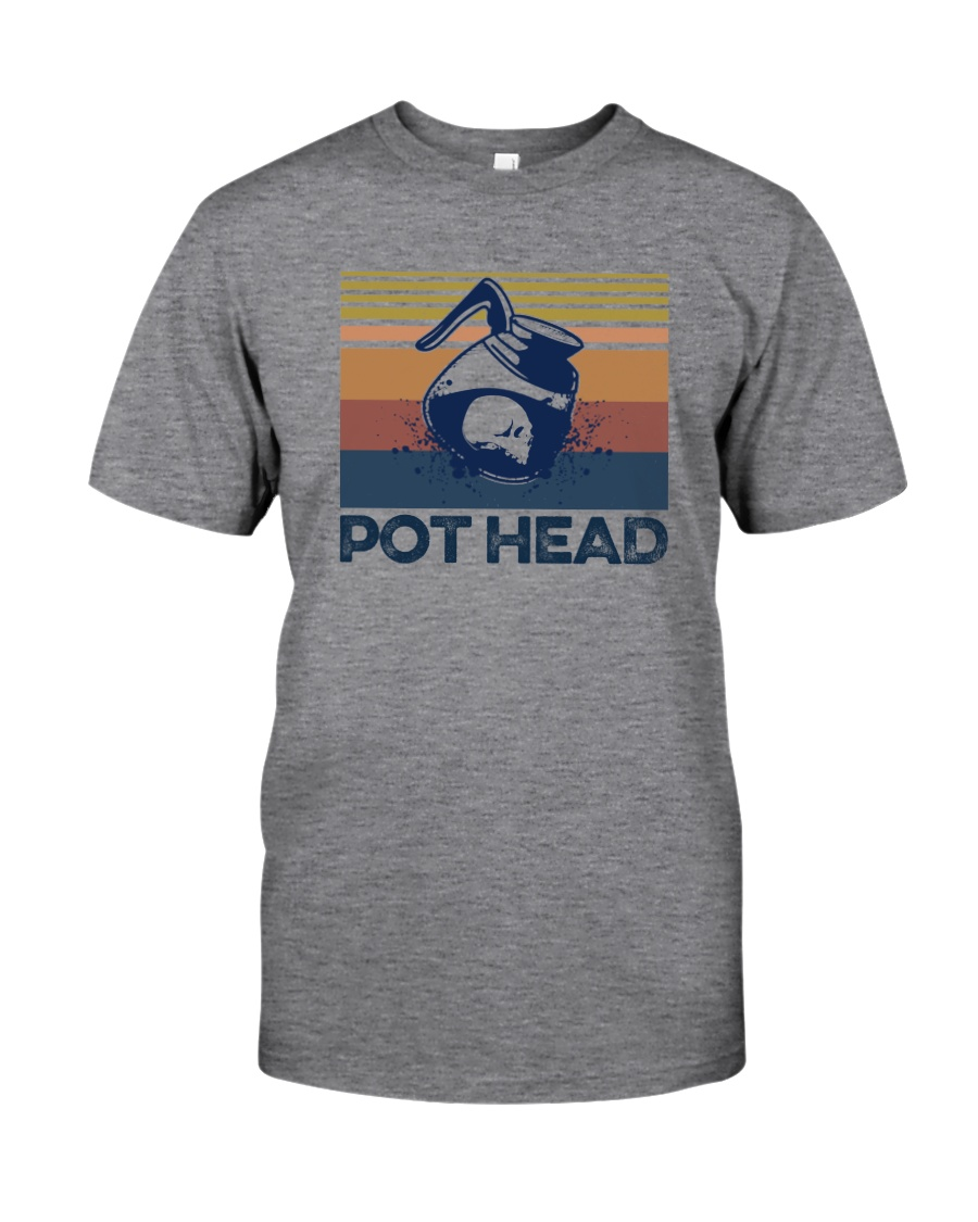 COFFEE POT HEAD Classic T-Shirt