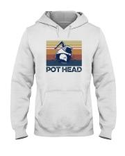 COFFEE POT HEAD Hooded Sweatshirt thumbnail