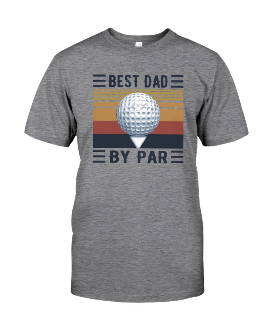 BEST GOLF DAD BY PAR Classic T-Shirt