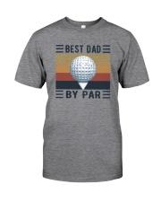 BEST GOLF DAD BY PAR Classic T-Shirt front