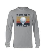 BEST GOLF DAD BY PAR Long Sleeve Tee thumbnail