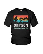 BIGFOOT SAW ME Youth T-Shirt thumbnail