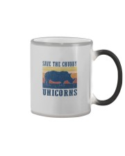 SAVE THE CHUBBY UNICORNS Color Changing Mug thumbnail