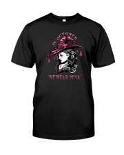 IN OCTOBER WE WEAR PINK WITCH Classic T-Shirt front