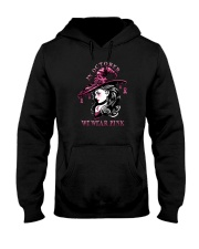 IN OCTOBER WE WEAR PINK WITCH Hooded Sweatshirt thumbnail
