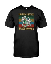 UNITED STATES SPACE FORCE VINTAGE Classic T-Shirt front