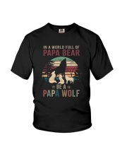 BE A PAPA WOLF Youth T-Shirt thumbnail