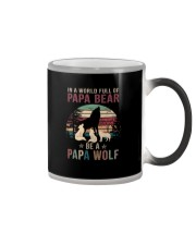 BE A PAPA WOLF Color Changing Mug thumbnail